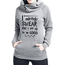 Rui-En Women's I Solemnly Swear That I Am Up To No Good Hoodie
