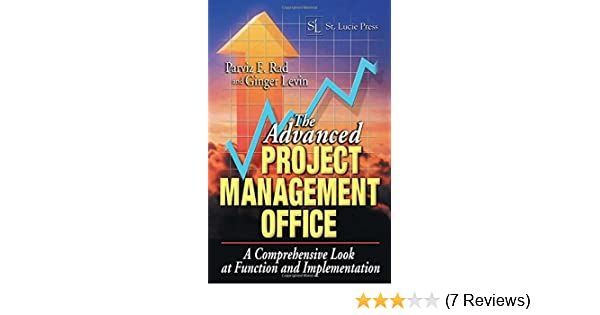 the advanced project management office rad parviz f levin ginger
