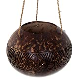 NOVICA Decorative Natural Fiber Storage Container, Brown, Earthen Shrine'