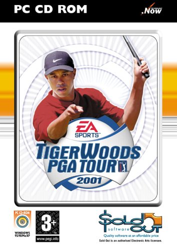 Tiger Woods PGA Tour 2001(PC CD)