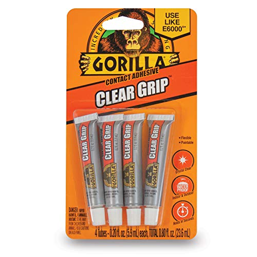 Gorilla Clear Contact Adhesive Waterproof