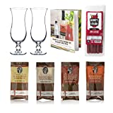 Bloody Mary Cocktail Gift Set - Glasses, Demitri's Mixes & Book - 8 Piece Set