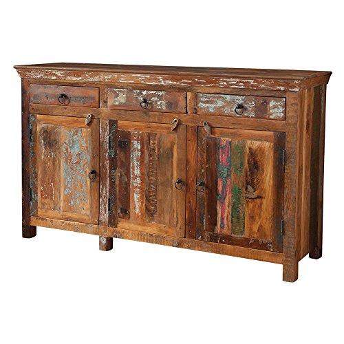 51EJ5qrI8YL - Coaster Furniture Reclaimed Wood Rustic Decorative Chest