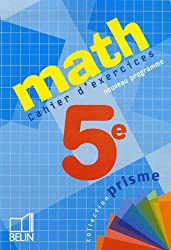 Math 5e : Cahier d'exercices