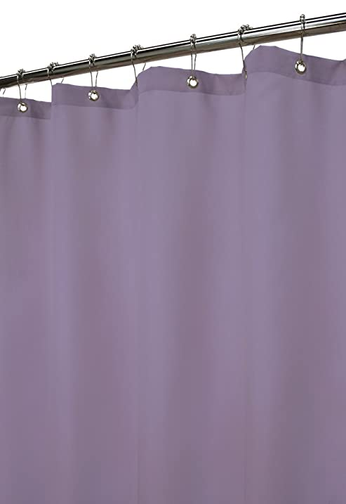 Park B Smith Dorset Solid Watershed Shower Curtain Plum