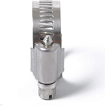 KESOTO Collier de Serrage Tuyau Pinces Clips Fix/é M/écaniques des V/éhicules /à Moteur