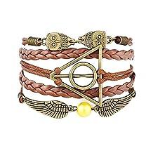 Accessorisingg Harry Potter Multi-strand Artificial Leather Bracelet forGirls[BR061]