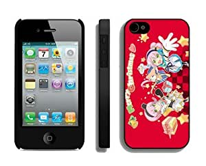 Custom-ized For Iphone 4/4S Cover Protective Skin Case Merry Christmas White For Iphone 4/4S Cover Case 63