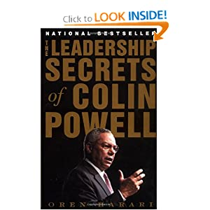 The Leadership Secrets of Colin Powell Oren Harari