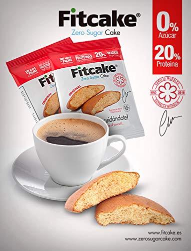 Fitcake® Bizcocho sin azúcar, Proteico, Sin aceite de palma, Dulce y ...