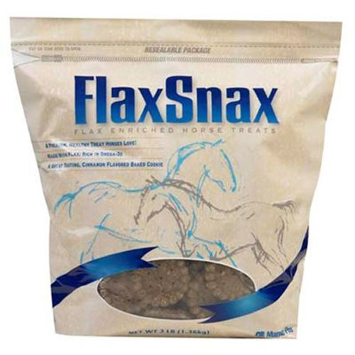 51EJ8n99auL - Manna Pro FlaxSnax 3.2-Pounds