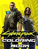 Cyberpunk Coloring Book: Great Gifts For Adults