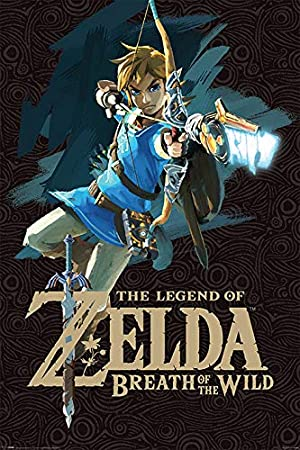 Grupo Erik Editores Poster Zelda Breath Of The Wild Game Cover ...