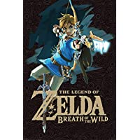 The Legend of Zelda Maxi Poster 61 x 91,5 cm Breath of the Wild Game Cover