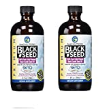 Amazing Herbs Black Seed Cold-Pressed Oil8oz. (Pack of 2)