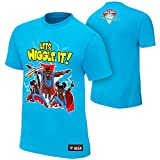 WWE The New Day Lets Wiggle It Authentic T-Shirt Light Blue