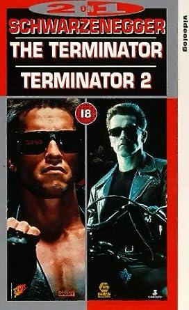 79c79450ab23 The Terminator Terminator 2  VHS   Arnold Schwarzenegger