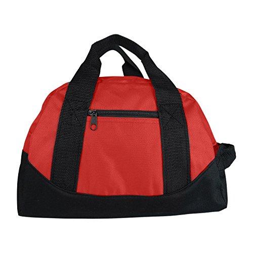 "12"" Mini Sport Travel Duffle Bag, Gym Bag, Carry-On"