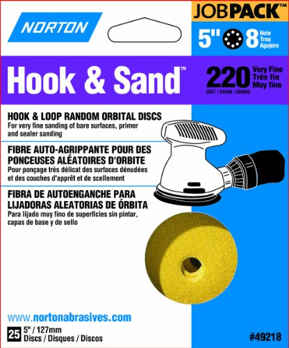 norton-49218-5-inch-8-hole-p220-hook-and-loop-discs-25-pack