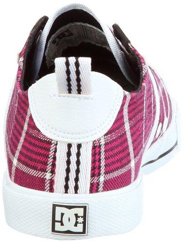 DC Shoes Fiona Womens Shoe D0302822 - Zapatillas de tela para mujer Rosa