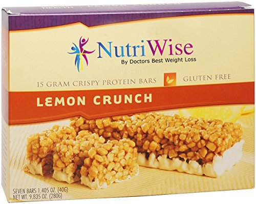 NutriWise - Lemon Crunch Diet Protein Bars (7 bars)