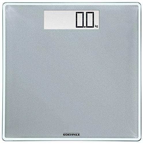 Soehnle 63855 Style Sense Comfort Digital Bathroom Scale | Silver