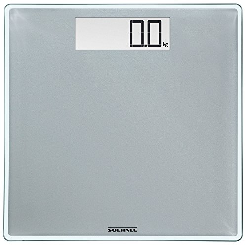 Soehnle 63855 Style Sense Comfort Digital Bathroom Scale Silver