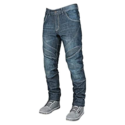 eb479165c90526 Amazon.com: Speed and Strength Rust and Redemption Men's Armored Moto  Street Motorcyle Pants - Blue / Size 30X30: Automotive