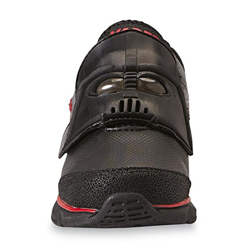 Star Wars Kinder Jungen Turnschuhe Blink Licht Schuhe Darth Vader schwarz (EU 33,5 = US2) …