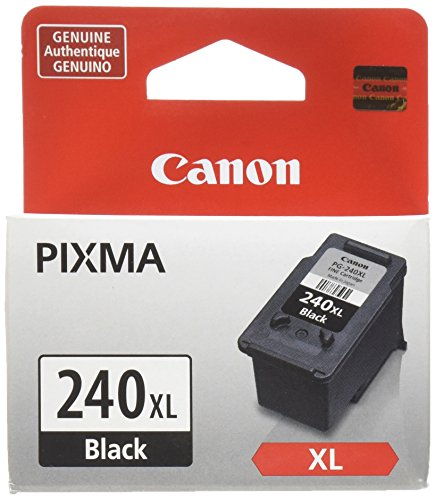 Canon PG-240XL Black Ink Cartridge, Compatible to MG3620, MG3520, MG4220,MG3220 and MG2220 (Canon Printer Ink)