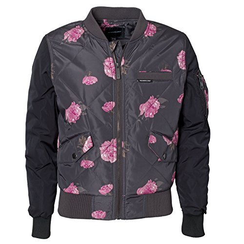 Girls Quilted Bomber Jacket - 3