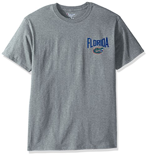 Men's Champ Short sleeve T-Shirt 6, X-Large, Oxford Heather (Florida Gators Mens T-shirt)