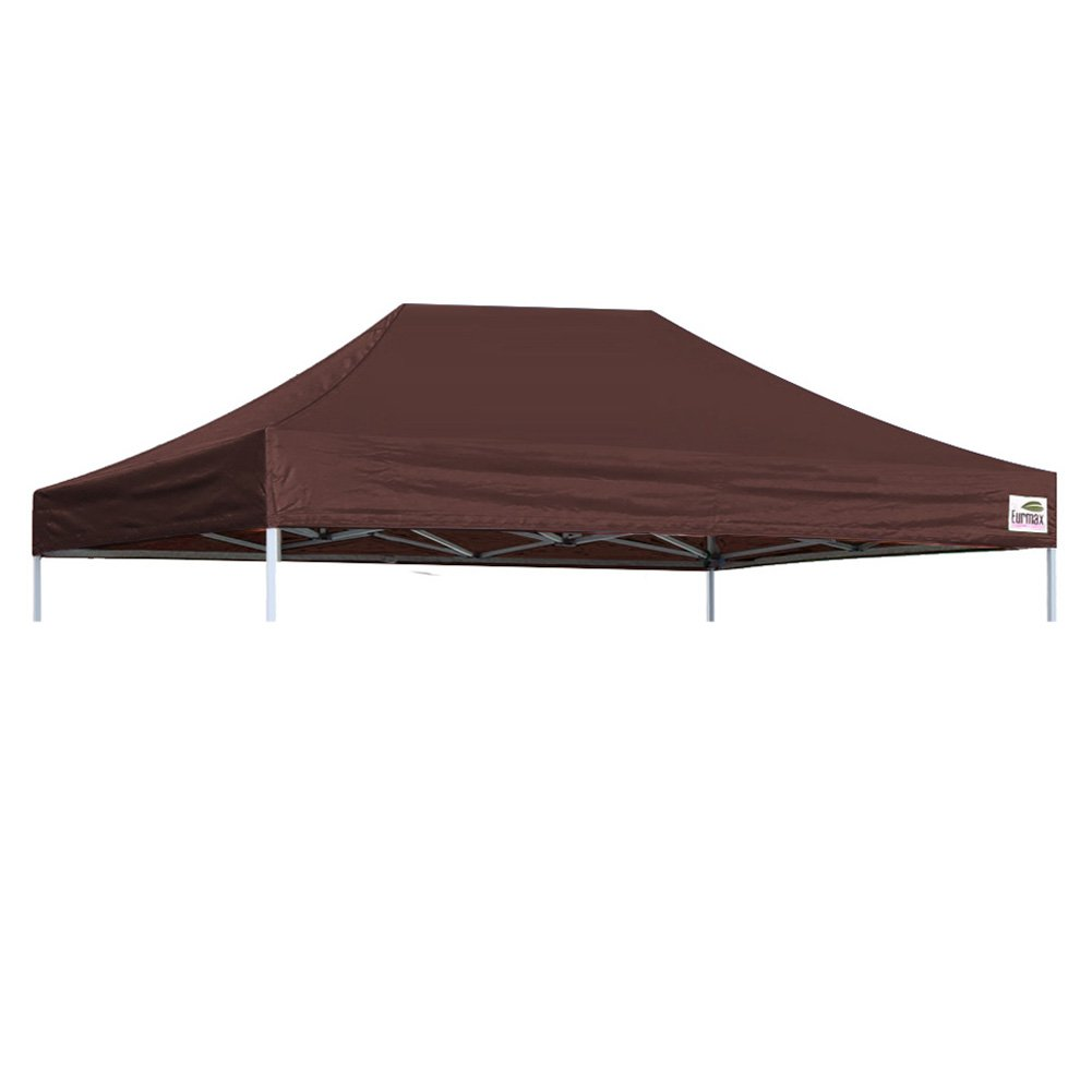 Eurmax Pop Up Canopy Top Gazebo Tent cover Replacement Top Only (10x15, White) Eurmax Inc