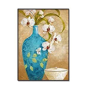 RTCKF Pintura al óleo decoración del hogar Pintura Lienzo ...