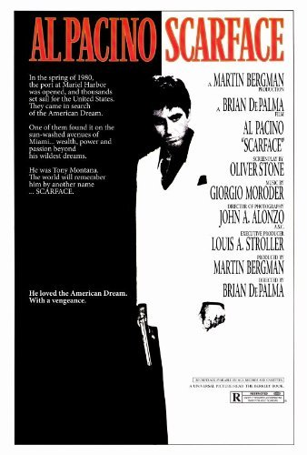 Amazon.com: Scarface Movie Poster (27 x 40 Inches - 69cm x 102cm ...