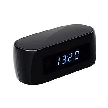 LEDMOMO Cámara de Alarma, 1080P HD WiFi Cámara Espía Soporte de Cámara Oculta Vista en Tiempo Real Visión Nocturna Loop Shooting para el hogar: Amazon.es: ...