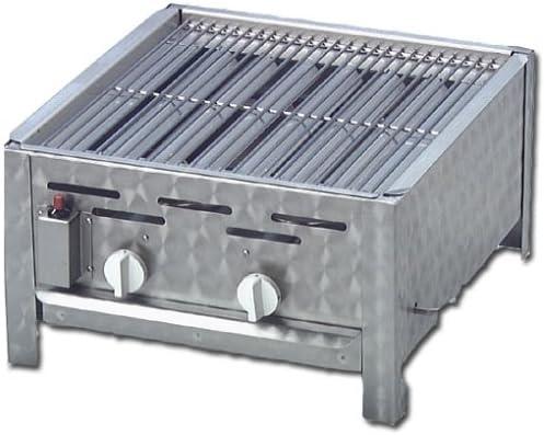 Activa 12510 2-flammiger Gastrobr/äter mit Grillrost
