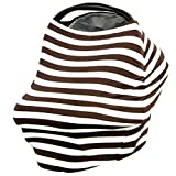 JLIKA Stretchy Infant Canopy Baby Car Seat Covers and Nursing Cover Best Gift