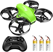 Potensic Upgraded A20 Mini Drone Easy to Fly Even to Kids and Beginners, RC Helicopter Quadcopter with Auto Ho