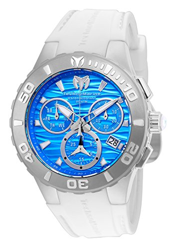 TechnoMarine Cruise Medusa Chronograph Blue Dial Mens Watch 115075