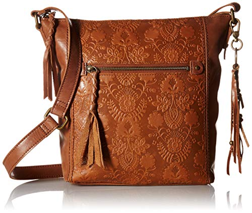 The Sak The Ashland Crossbody, Tobacco Floral - Handbag Embossed