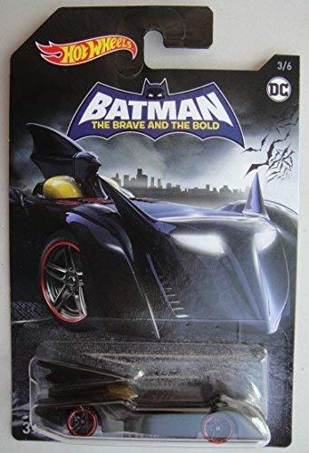 Hot Wheels BATMAN THE BRAVE AND THE BOLD, BATMOBILE 3/6