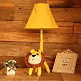 LINA-The living room floor lamp children's room of the lion bedside Lamp Decoration Lamp Gift Card ,table lamp