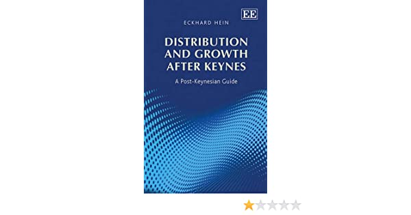 Post-Keynesian Ideas For A Crisis That Conventional Remedies Cannot Resolve