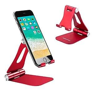 Amazon.com: Desktop Cell Phone Holder Foldable, Adjustable