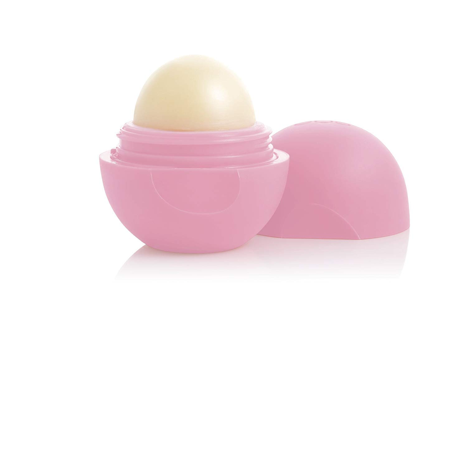 eos Smooth Lip Balm Sphere, Strawberry Sorbet 0.25 oz (Pack of 10) by eos