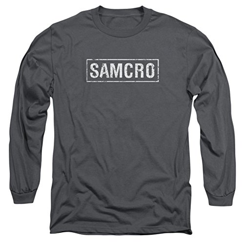 Long Sleeve: Sons Of Anarchy - Samcro Longsleeve Shirt Size L