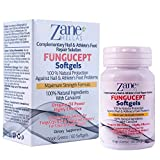Fungucept Softgels. Complementary Nail & Athlete's Foot Repair Solution. 100% Natural 108 mg of Carvacrol. Faster and Better Results. 60 Softgels by Zane Hellas