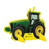 Party Destination - John Deere Tractor - Centerpiece - Green/Yellow