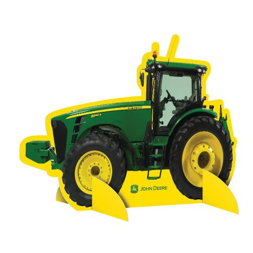 Party Destination - John Deere Tractor - Centerpiece - Green/Yellow by Party Destination